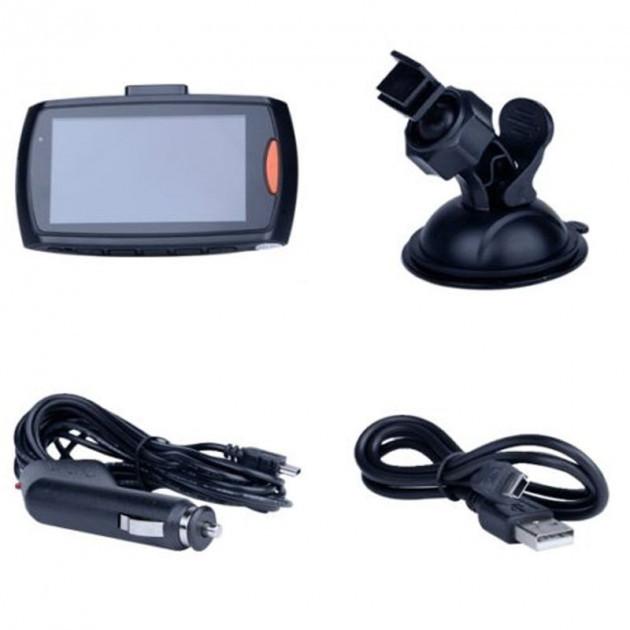 """Автомобильный видеорегистратор G30 DVR Full HD 1 камера мини регистратор 3"""""""