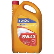 Минеральное моторное масло Yukoil Classic 15w-40