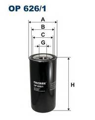 Масляный фильтр Filtron Op 626/1 Wix 51095E