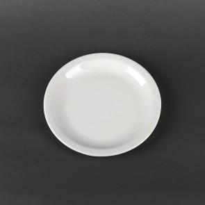 Тарелка мелкая фарфоровая Lubiana Ameryka 210 мм (131)