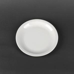 Тарелка мелкая фарфоровая Lubiana Ameryka 210 мм (131), фото 2