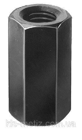 Гайка-втулка шестигранная удлиненная DIN 6334 от М 6 до М 20