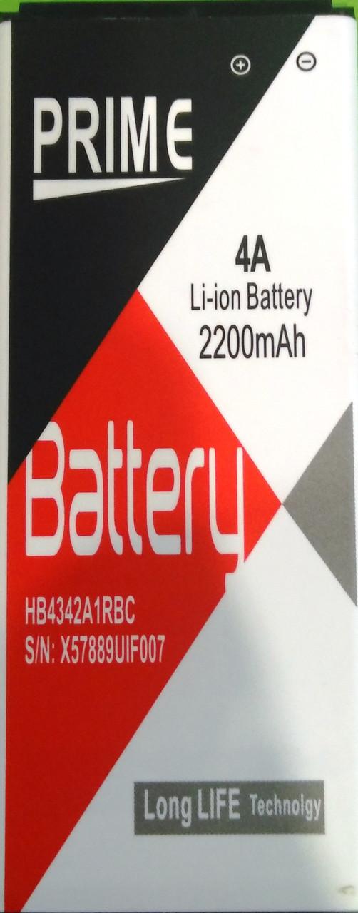 Акумулятор PrimeHB4342A1RBC для HUAWEI 4A/Y5 II (2200mAh)