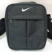 Сумка спортивная мужская Nike / серая, фото 1