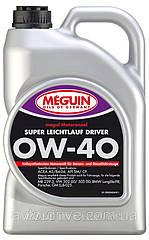 Синтетическое моторное масло Meguin megol motorenoel Super Leichtlaul Driver sae 0w40 4L