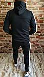 Костюм мужской спортивный утепленный с лампасами 3 цвета, фото 6