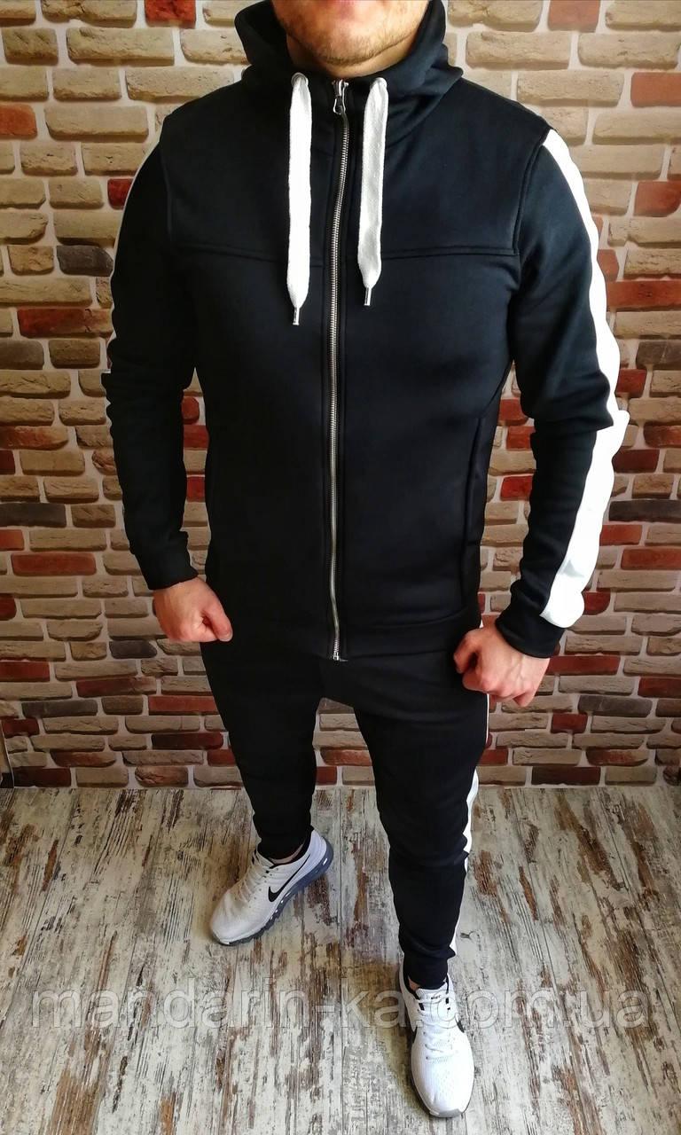 Мужской  спортивный  костюм  с лампасами 3 цвета