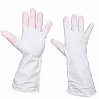 """Перчатки латексные, хозяйственные, прочные универсальные """"Дельфин"""", размер – S, уп. — 10 пар"""