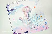 Панелька сатин Медуза 40*40