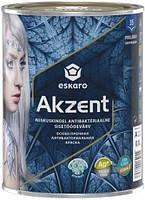 Краска Eskaro Akzent белый 0,9л 1,4кг