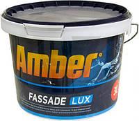 Краска акриловая Amber Fassade LUX мат белый 3л