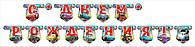 Гирлянда-буквы С Днем рождения Тачки