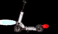 Электрический самокат E-scooter скорость до 42 км/ч цвет белый