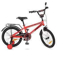 Детский двухколесный велосипед PROFI 18 дюймов Forward, красный T1875