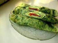 Блинчики из шпината с лососем 180г