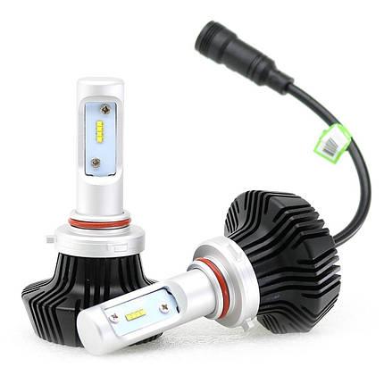 Светодиодная лампа цоколь H8, GSP Samsung 6000К, 9000 lm 45W, 9-36В, фото 2