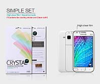 Защитная пленка Nillkin для Samsung Galaxy J1 J100h глянцевая