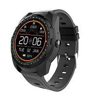 Умные часы King Wear KW01 с влагозащитой и пульсометром (Черный), фото 1