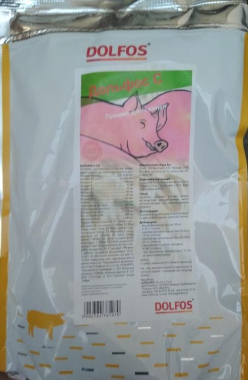 Премикс Дольфос С для свиней,  2кг