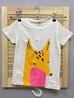 Детская футболка с лисой Акция! Последний размер:  140см