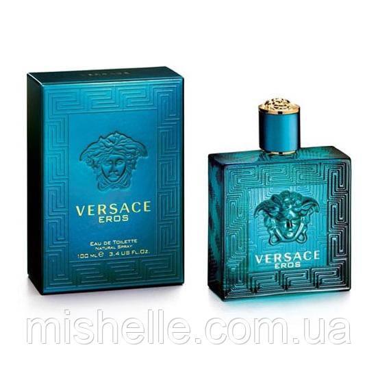 Мужская туалетная вода Versace Eros (Версаче Эрос) реплика