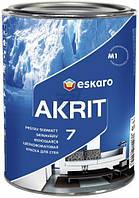 Краска Eskaro Akrit 7 белый 0,95л 1,23кг