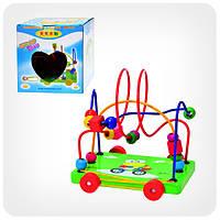 Деревянная игрушка-каталка «Лабиринт»