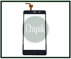 Сенсорний екран (тачскрін) для телефону S-TELL M511, Leagoo M5, Bravis A504, Bravis X500, чорний