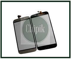 Сенсорний екран (тачскрін) для телефону S-TELL M555, Kiano Elegant 5.5, UMI Rome X, Bravis A553, золотий