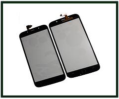 Сенсорний екран (тачскрін) для телефону S-TELL M555, Kiano Elegant 5.5, UMI Rome X, Bravis A553, чорний