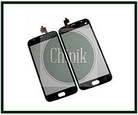 Сенсорный экран (тачскрин) для телефона DOOGEE X9 Mini, черный