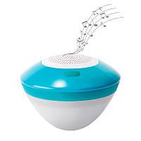 Колонка плавающая водонепроницаемая Intex 28625, Bluetooth, LED- подсветка