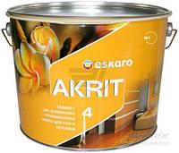 Краска Eskaro Akrit 4 белый 9,5л 13,7кг