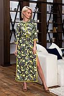 Летнее длинное платье из батиста (3 цвета) ВШР40091089, фото 1