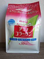 Amino Collagen - рыбный коллаген, MEIJI, Япония (214 г )