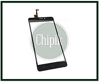 Сенсорный экран (тачскрин) для телефона Oukitel C3, Bravis A503, S-tell M510, черный
