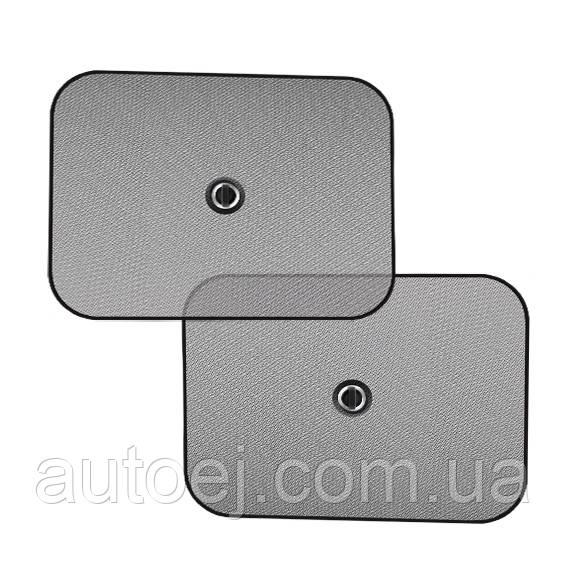 Шторки солнцезащитные боковые CarLife SS044, 2шт