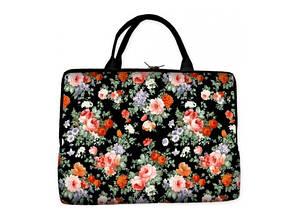 Сумка-чехол для ноутбука Цветы