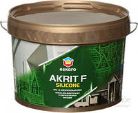 Краска Eskaro Akrit Fasad Silicone белый 2,7л 3,24кг