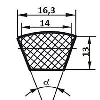 Ремень  SPB-2720