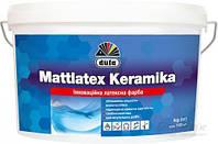 Краска водоэмульсионная Dufa Mattlatex Keramika шелковистый мат белый 3.5кг