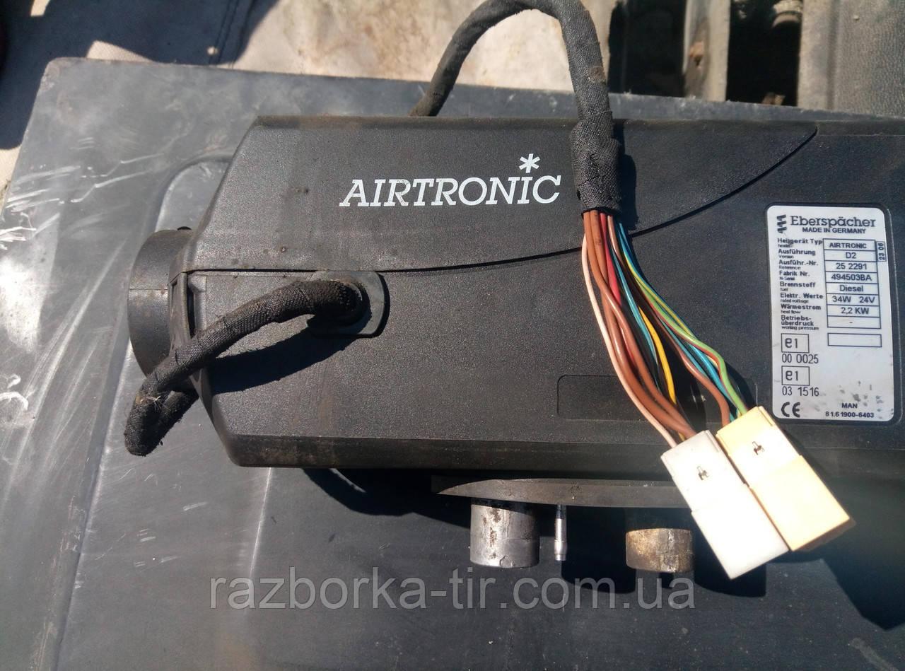 Автономный воздушный отопитель для Man TGA - TGX