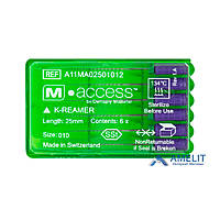 К-Римеры M Access(K-Reamers M-Access,Dentsply Sirona), 6шт./уп.