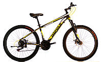 Велосипед спортивный Impuls 24 MORGAN, желто-серый, фото 1