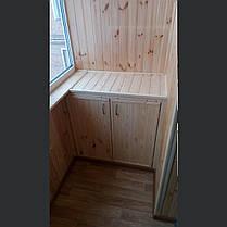 Внутренняя отделка балконов, фото 2