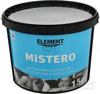 Декоративная штукатурка Element Decor Mistero полупрозрачный 15кг