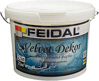 Декоративная краска Feidal Velvet Dekor матовий перламутровый 2.5 л