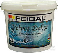 Декоративная краска Feidal Velvet Dekor матовий перламутровый 5 л