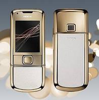 Китайская Nokia 8800 Gold Arte, слайдер, экран 2.0,Fm,GPRS, WAP Bluetooth. Имиджевый дизайн !!!, фото 1