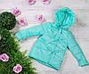 Куртка весна-осень 783, размеры 134-146 (7-11 лет), цвет голубой